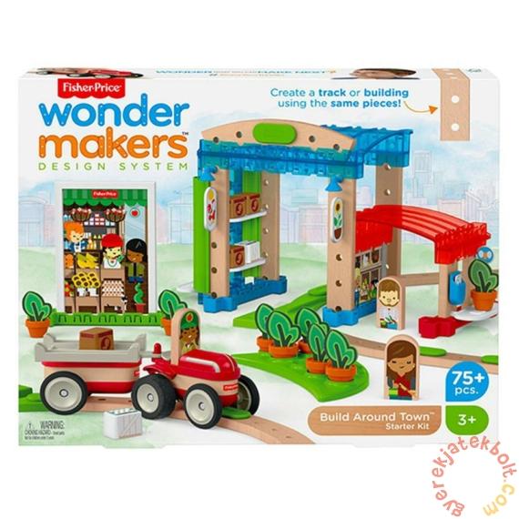 Fisher-Price Wonder Makers - A város körül építőszett (FXG14)
