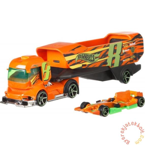 Hot Wheels City Kisautó szállító - Big Rig Heat (FKW92-BDW51)