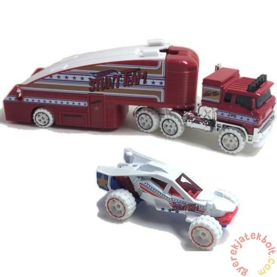 Hot Wheels City Kisautó szállító - Stuntin' Semi (BDW51-GBF13)