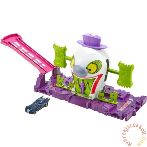 Hot Wheels City Joker elvarázsolt kastélya játékszett (GBW51-GBW50)