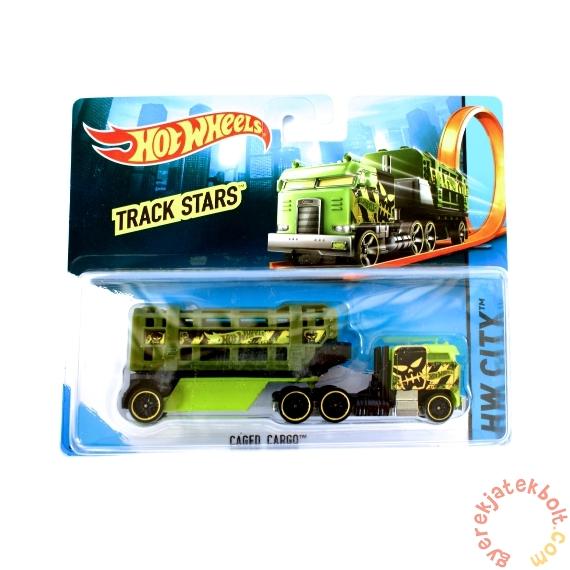 Hot Wheels Track Stars szállítóautó - Caged Cargo