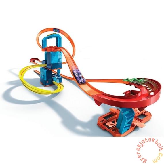 Hot Wheels Track Builder turbó versenypálya