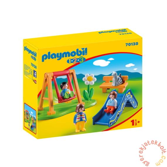 Playmobil 1.2.3 - Játszótér játékszett