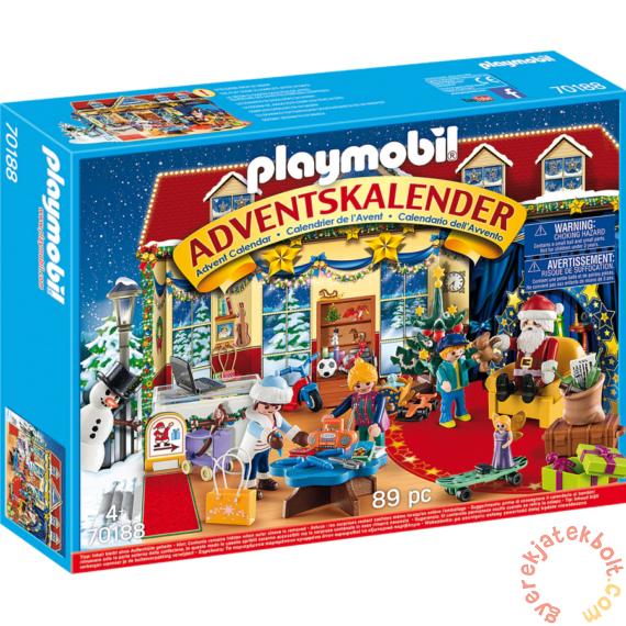 Playmobil - Adventi naptár - Karácsony a játékboltban játékszett