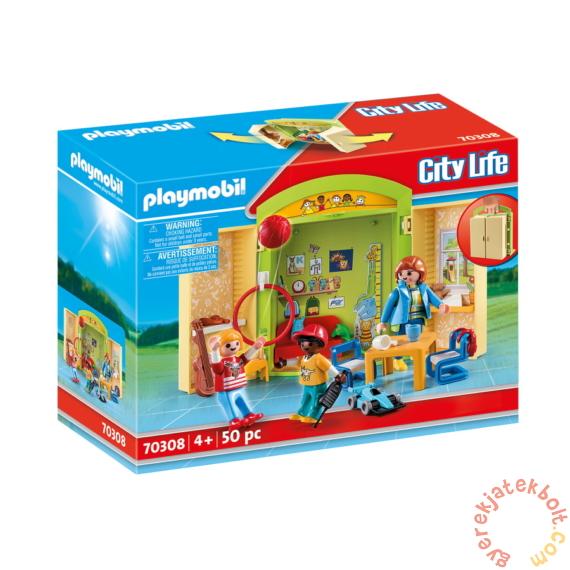 Playmobil - City Life - Az óvodában játékbox