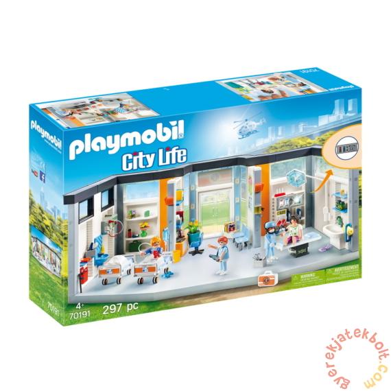 Playmobil - City Life - Berendezett kórházi szárny játékszett
