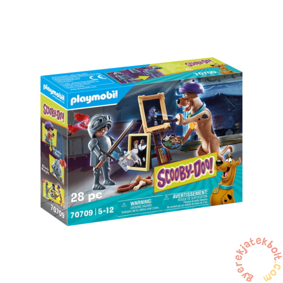 Playmobil - Scooby-Doo! - Black Knight kaland játékszett