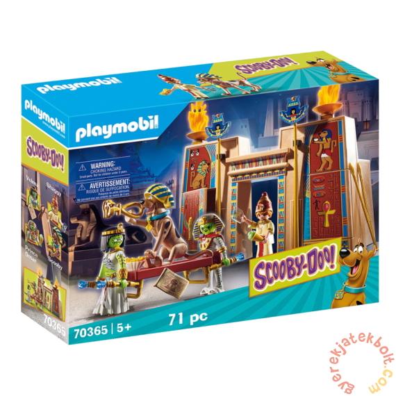 Playmobil - Scooby-Doo! - Kaland Egyiptomban játékszett