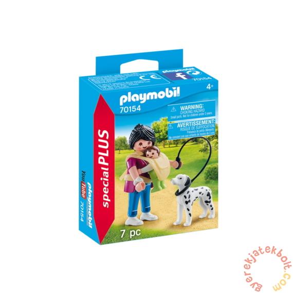 Playmobil - Special Plus - Anyuka kisbabával és kutyával játékszett