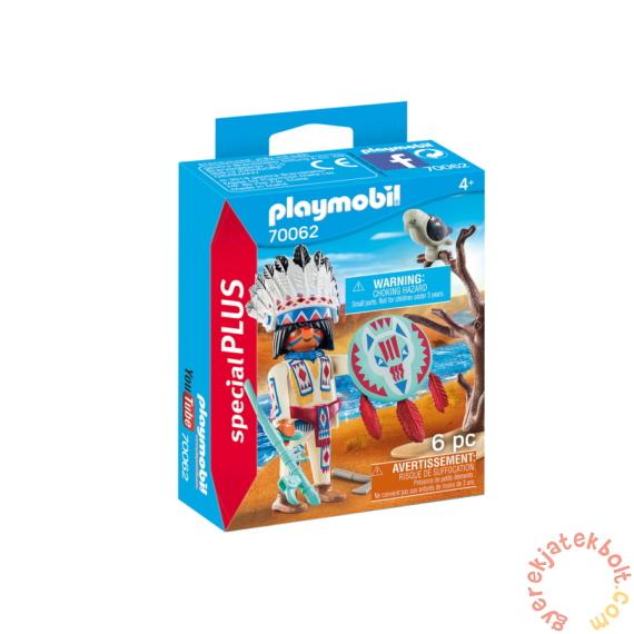 Playmobil - Special Plus - Indián törzsfőnök játékszett