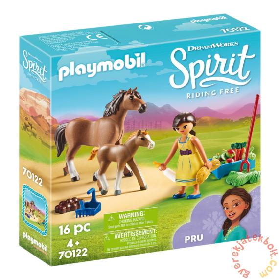 Playmobil - Szilaj, a szabadon száguldó - Prudi lovacskákkal játékszett