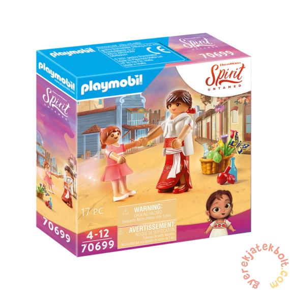 Playmobil - Szilaj - Zabolátlanok - Kislány Lucky és Milagro játékszett