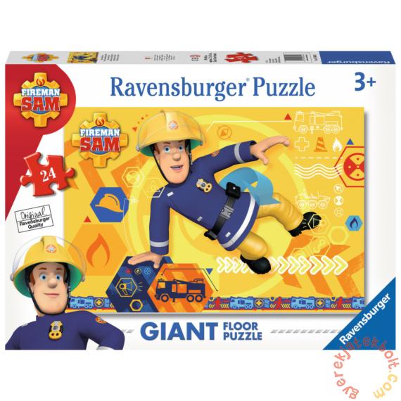Ravensburger 24 db-os Floor puzzle - Sam, a tűzoltó (05446)