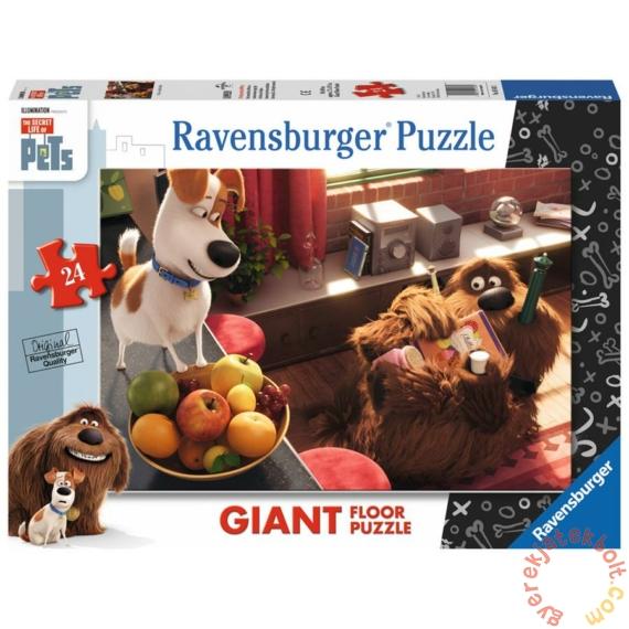 Ravensburger 24 db-os Floor puzzle - A kis kedvencek titkos élete (05483)