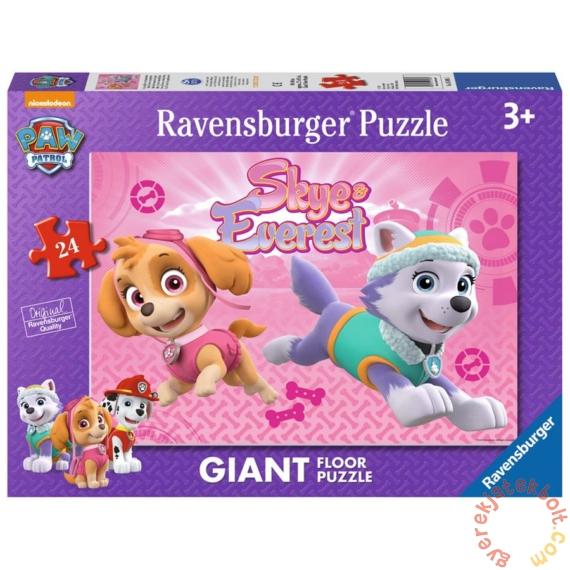 Ravensburger 24 db-os Floor puzzle - Mancs őrjárat - Skye és Everest (05498)