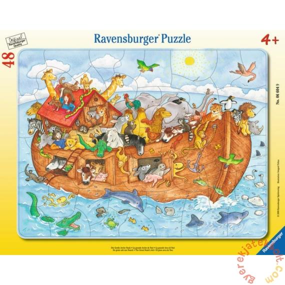 Ravensburger 48 db-os keretes puzzle - Noé bárkája (06604)