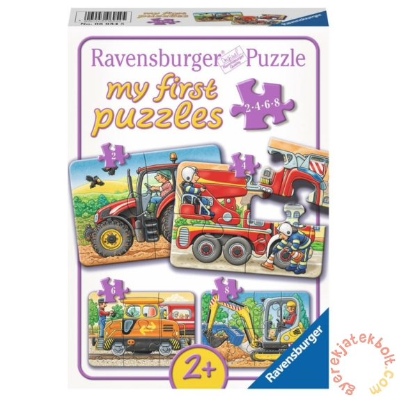 Ravensburger Első Baby puzzle - Munka közben (06954)