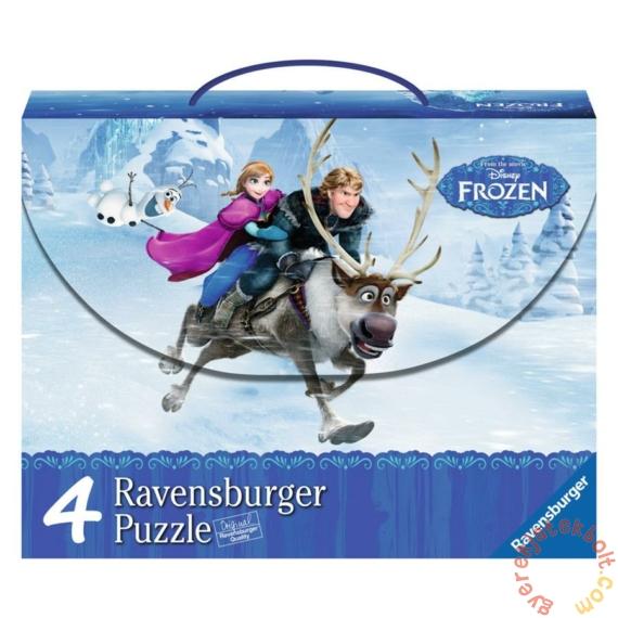 Ravensburger 4 az 1-ben puzzle kofferben - Jégvarázs (07300)