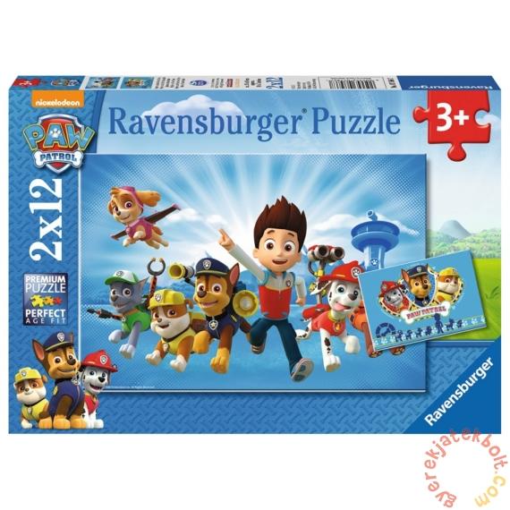 Ravensburger 2 x 12 db-os puzzle - Mancs őrjárat (07586)