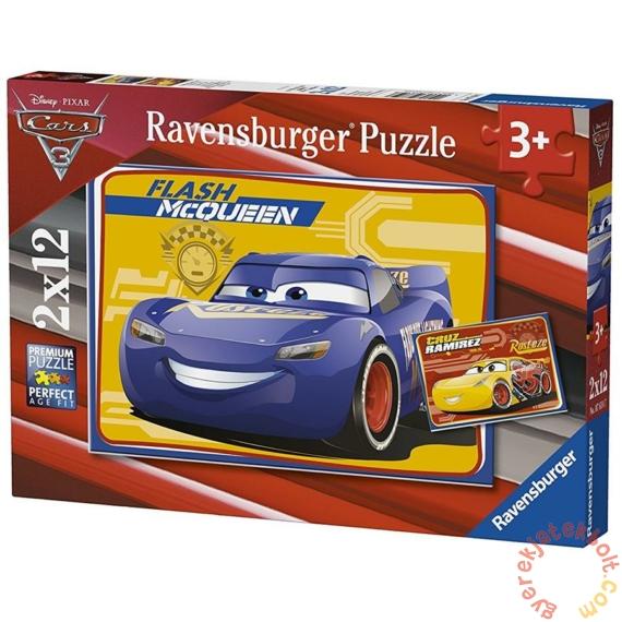 Ravensburger 2 x 12 db-os puzzle - Verdák 3 (07614)