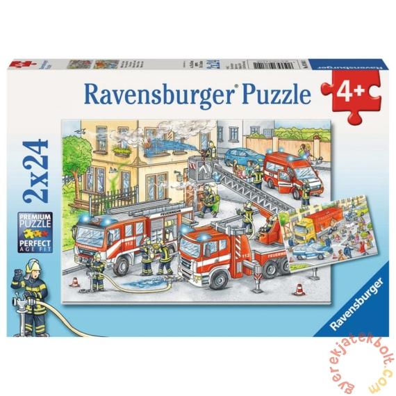 Ravensburger 2 x 24 db-os puzzle - A város hősei (07814)