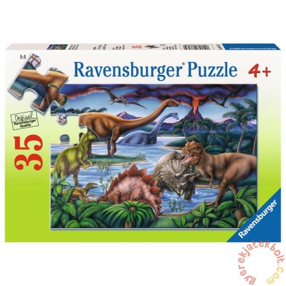 Ravensburger 35 db-os puzzle - Dínók játszótere (08613)