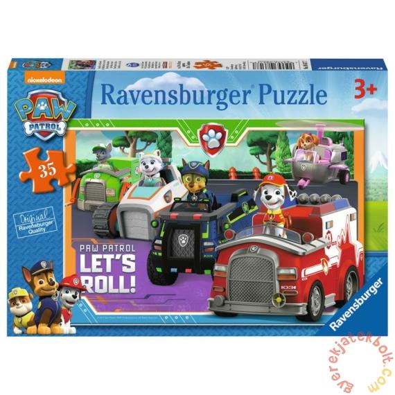 Ravensburger 35 db-os puzzle - Mancs őrjárat - Let's Roll! (08617)