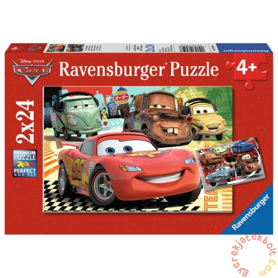 Ravensburger 2 x 24 db-os puzzle - Verdák - Új kalandok (08959)