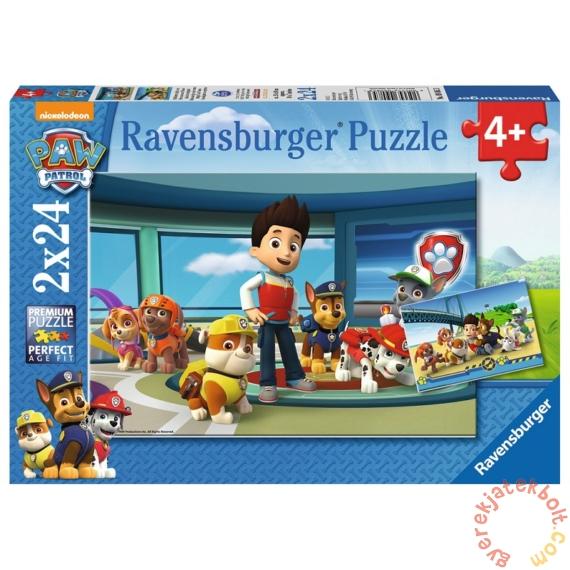 Ravensburger 2 x 24 db-os puzzle - Mancs őrjárat (09085)