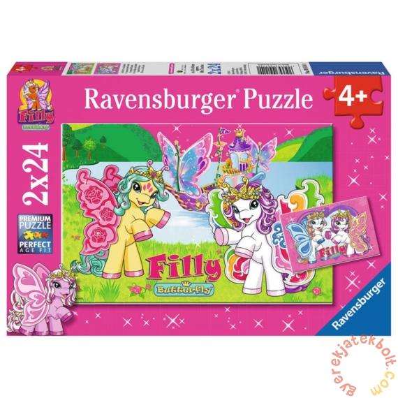 Ravensburger 2 x 24 db-os puzzle - Filly pillangó pónik (09114)