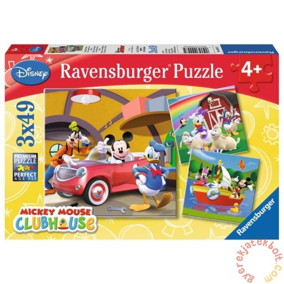 Ravensburger 3 x 49 db-os puzzle - Mickey és barátai - Barátok (09247)