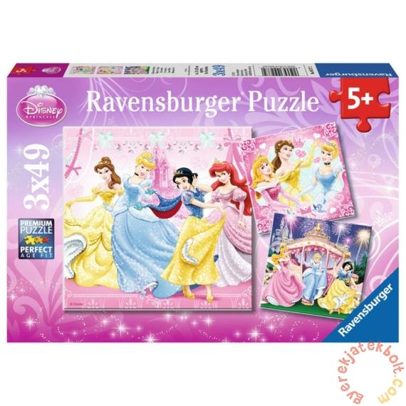 Ravensburger 3 x 49 db-os puzzle - Disney Princess - Hercegnők álma (09277)