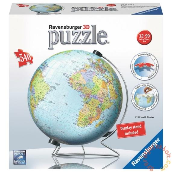Ravensburger 540 db-os 3D puzzle - Földgömb (12436)
