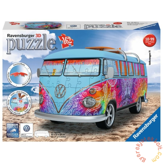 Ravensburger 162 db-os 3D puzzle - Volkswagen T1 Indian Summer (12527)
