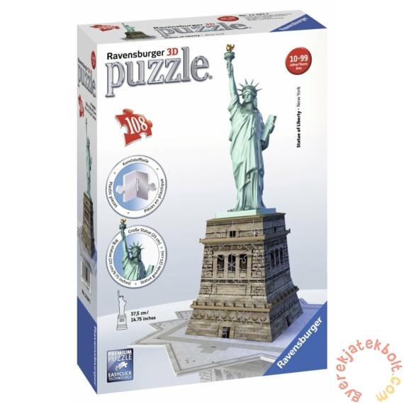 Ravensburger 108 db-os 3D puzzle - Szabadság szobor - New York (12584)