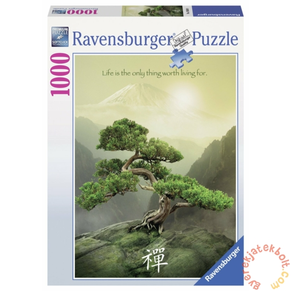 Ravensburger 1000 db-os puzzle - Zen fa (19389)