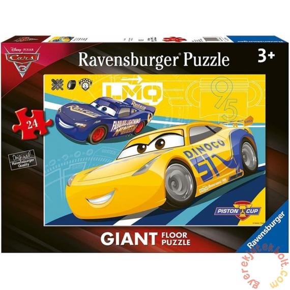 Ravensburger 24 db-os Floor puzzle - Verdák 3 - Szelep kupa  (05518)
