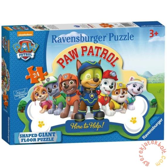 Ravensburger 24 db-os Óriás sziluett puzzle - Mancs őrjárat (05536)