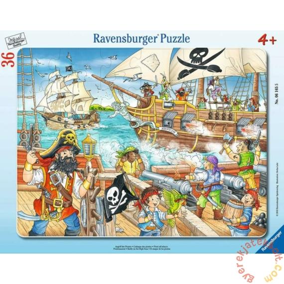 Ravensburger 36 db-os keretes puzzle - Csata a nyílt tengeren (06165)