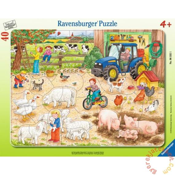 Ravensburger 40 db-os keretes puzzle - A nagy farmon (06332)