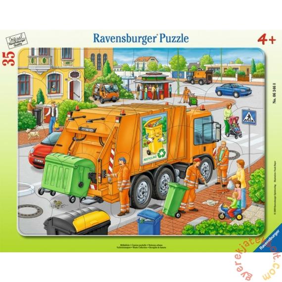 Ravensburger 35 db-os puzzle - Hulladékgyűjtés (06346)