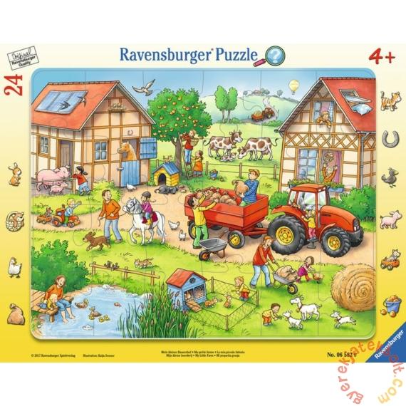 Ravensburger 24 db-os keretes puzzle - Én kicsi farmom (06582)