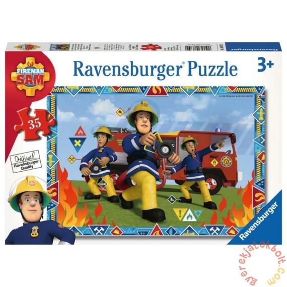 Ravensburger 35 db-os puzzle - Sam, a tűzoltó (08670)