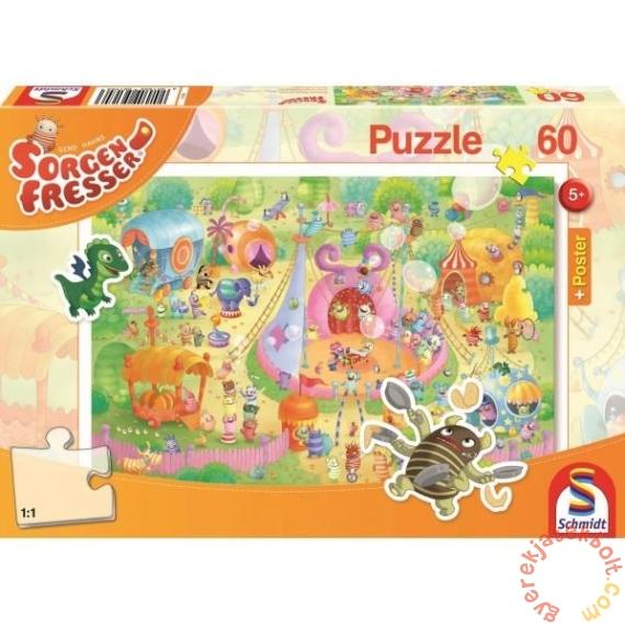 Schmidt 60 db-os puzzle - Manege Frei! Sorgenfresser (56170)