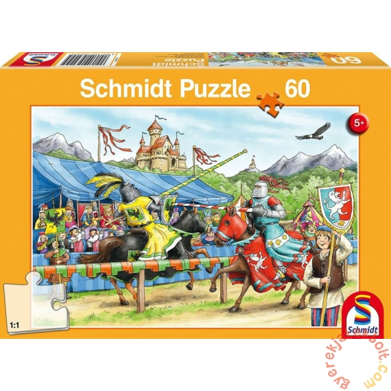 Schmidt 60 db-os puzzle - Jousting Knight (56204)