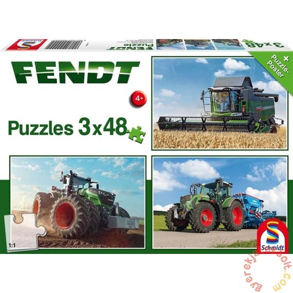 Schmidt 3 x 48 db-os puzzle - Fendt (56221)