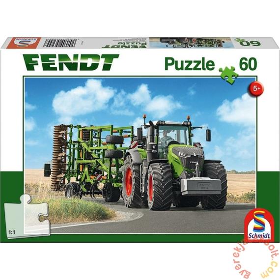 Schmidt 60 db-os puzzle - Fendt 1050 Vario mit Amazone Grubber (56255)