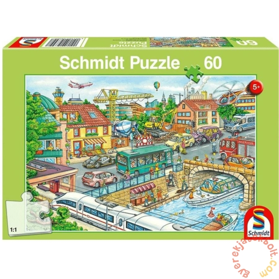Schmidt 60 db-os puzzle - Vehicles and Traffic (56309)