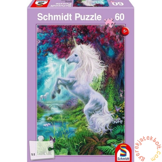 Schmidt 60 db-os puzzle - Unicorn in the Enchanted Garden (56310)