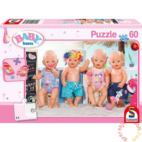 Schmidt 60 db-os Baby Born puzzle - In summer (56298)